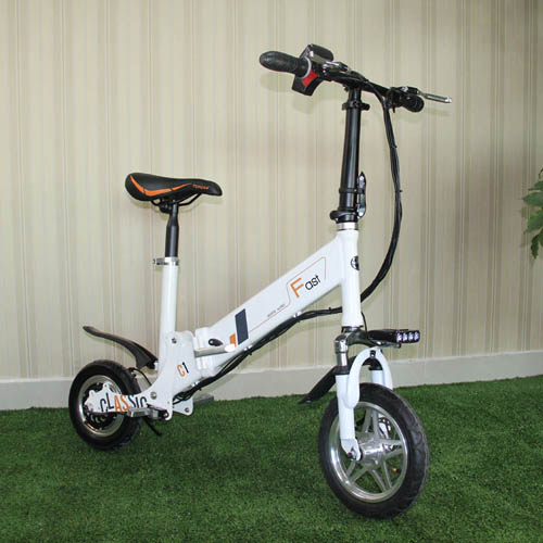 adults folding electric bike