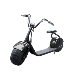 City Elektro-Roller Big Wheel mit Sitz