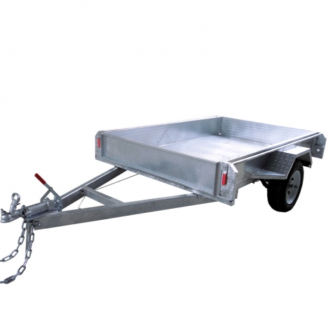 6 x 4-Box Aluminium Trailer