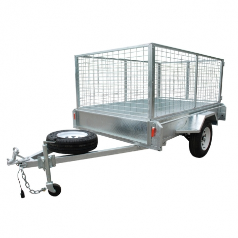 Verzinkt 5 x 8 Box Trailer
